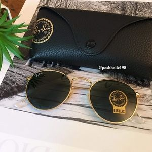 🌼NEW Ray-ban Round Metal classic g15